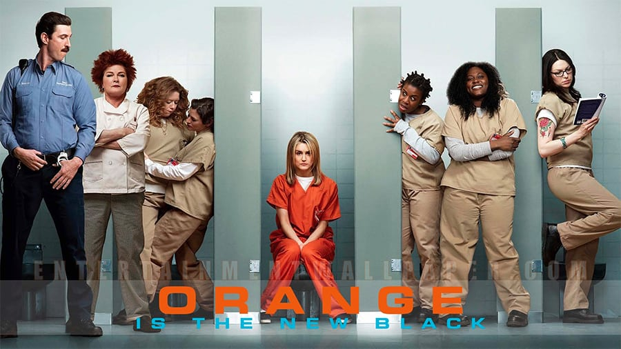 orange is the new black - inspiration home decor