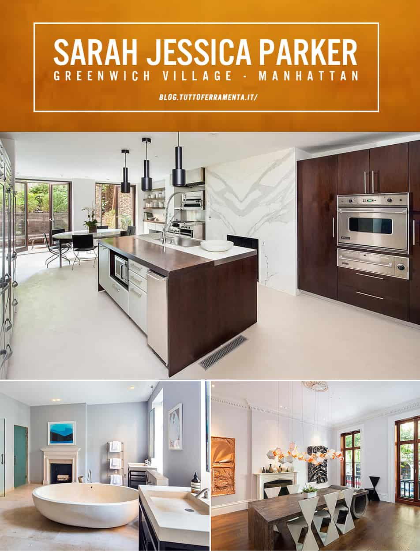 Arredare in stile newyorkese – Sarah Jessica Parker vende casa!