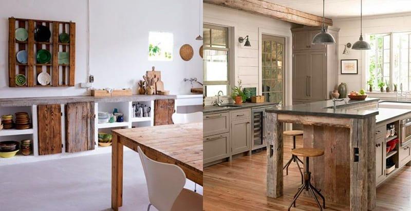 cucine rustiche - legno