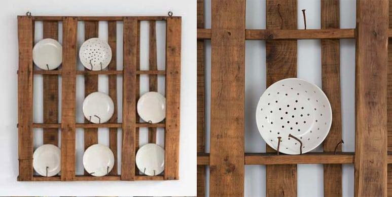 Come utilizzare i pallet per arredare la piattaia for Piattaia design