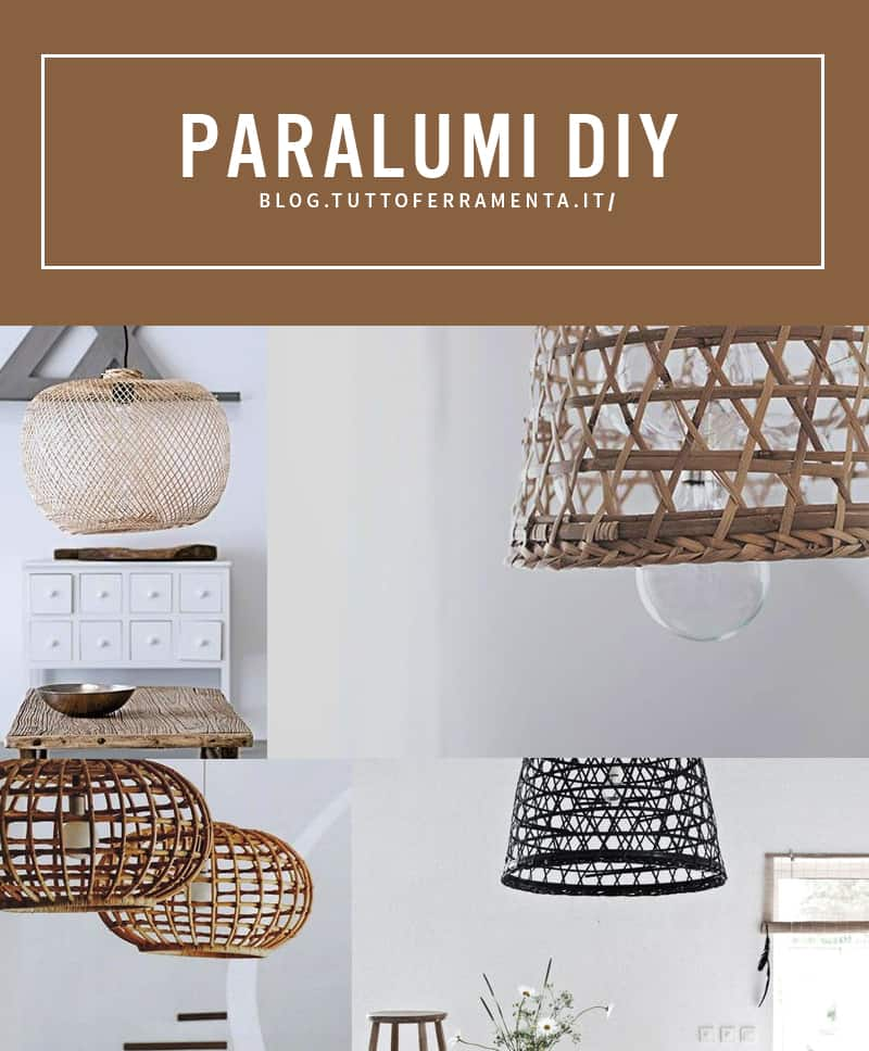 Diy paralume arredo low cost per la casa for Ristrutturare casa low cost