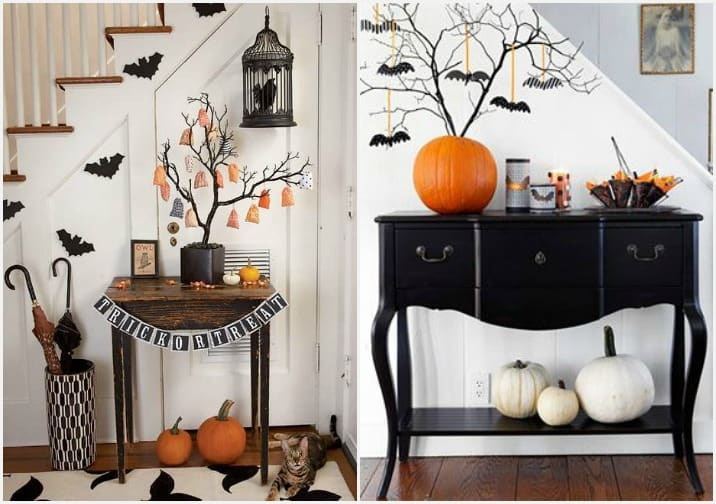 Halloween 3 idee low cost per arredare casa for Decorare soggiorno per natale