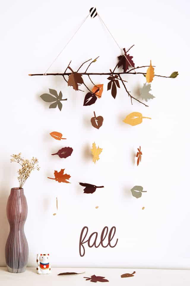 Autunno fai da te 5 idee per arredare casa d 39 autunno for Idee per decorare pareti di casa
