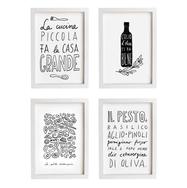 Art verona idee artistiche e originali per decorare una parete tuttoferramenta blog for Quadretti per cucina