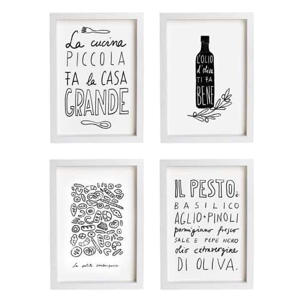Stampe per cucina design casa creativa e mobili ispiratori - Quadretti per cucina ...