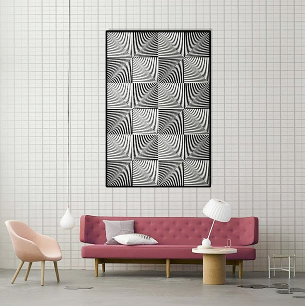 Optical wall - Decorazioni per la casa