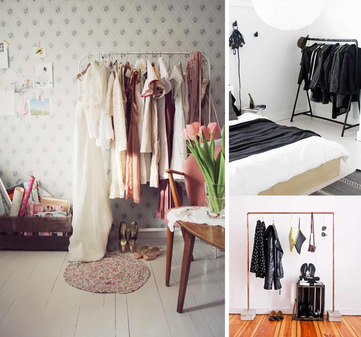 Stender online scopri come organizzare il guardaroba con - Camera armadio fai da te ...