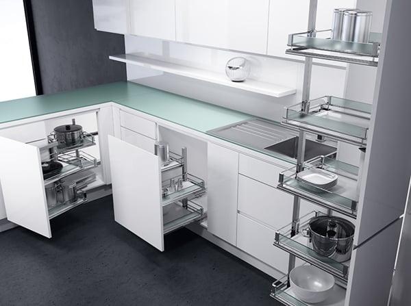 8 utili consigli per organizzare la tua cucina - Carrelli estraibili per cucine ...