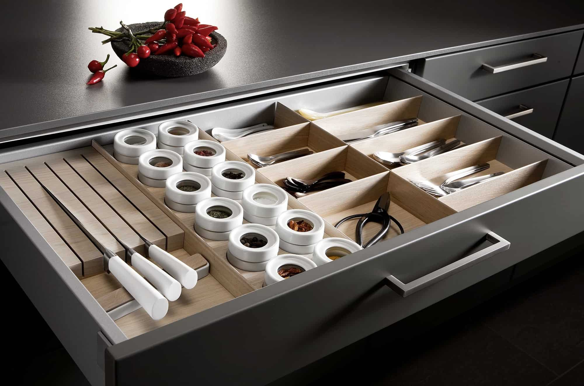 Keuken Organizer : Kitchen Drawer Storage