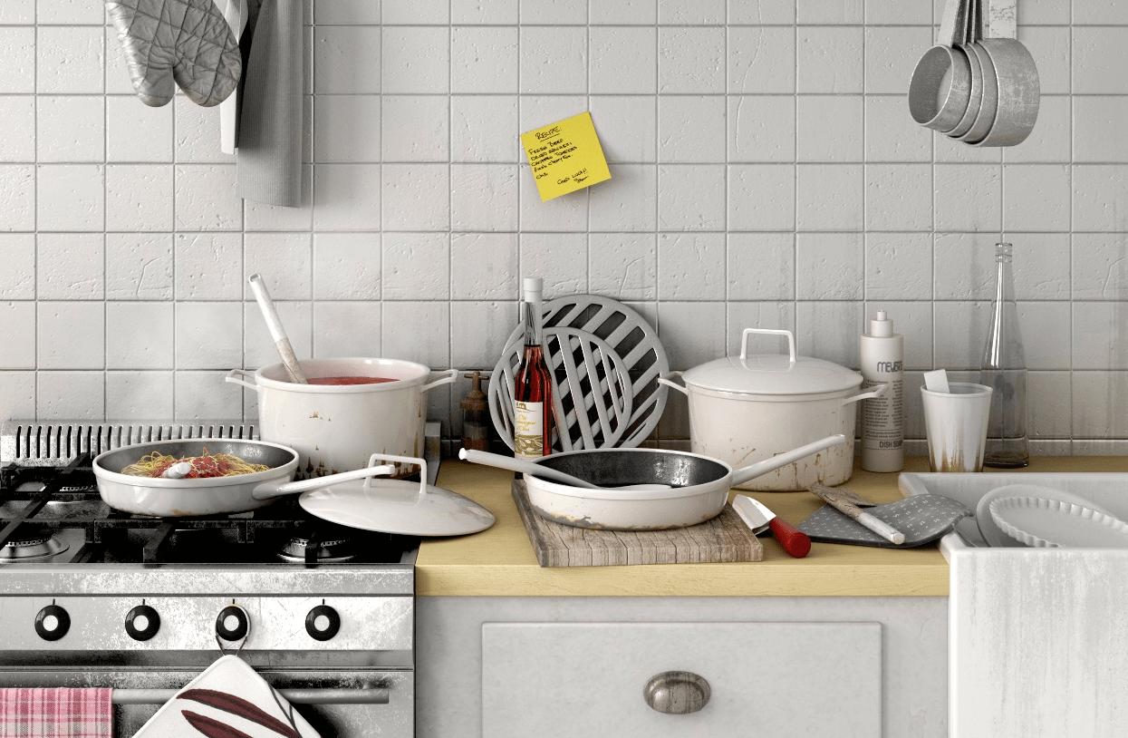 Cucina 8 utili consigli per organizzare la tua cucina - Pensili cucina fai da te ...