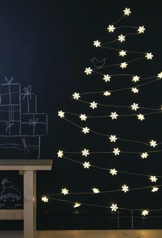 5 idee creative per un albero di natale fai da te. Black Bedroom Furniture Sets. Home Design Ideas