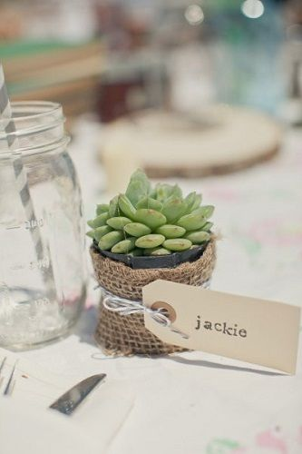 Confezionare Piante In Vaso : Natale in tavola idee fai da te segnaposti centrotavola e