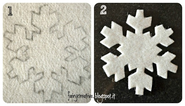 Fiocchi Di Neve Di Carta Facili : Diy decorazioni natalizie ghirlanda di fiocchi di neve