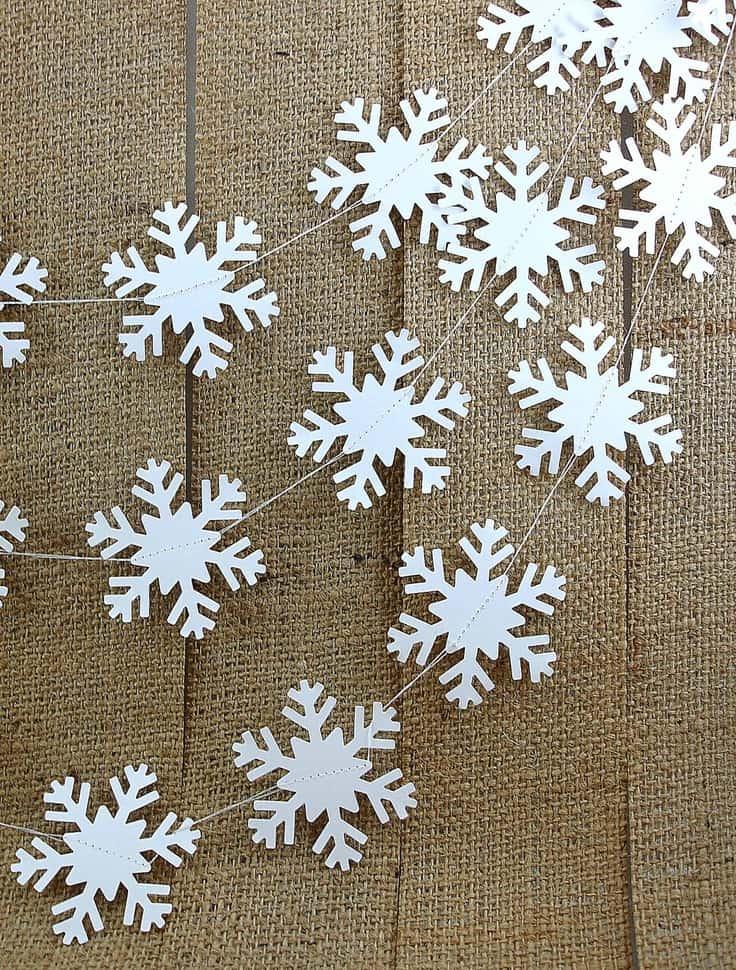 ... Natalizie – Ghirlanda di fiocchi di neve! – Tuttoferramenta.it