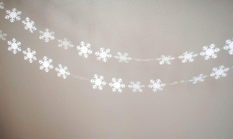 Ghirlanda di fiocchi di neve - Idee per il Natale