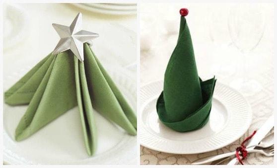 Natale in tavola idee fai da te segnaposti centrotavola e for Creare cose in casa