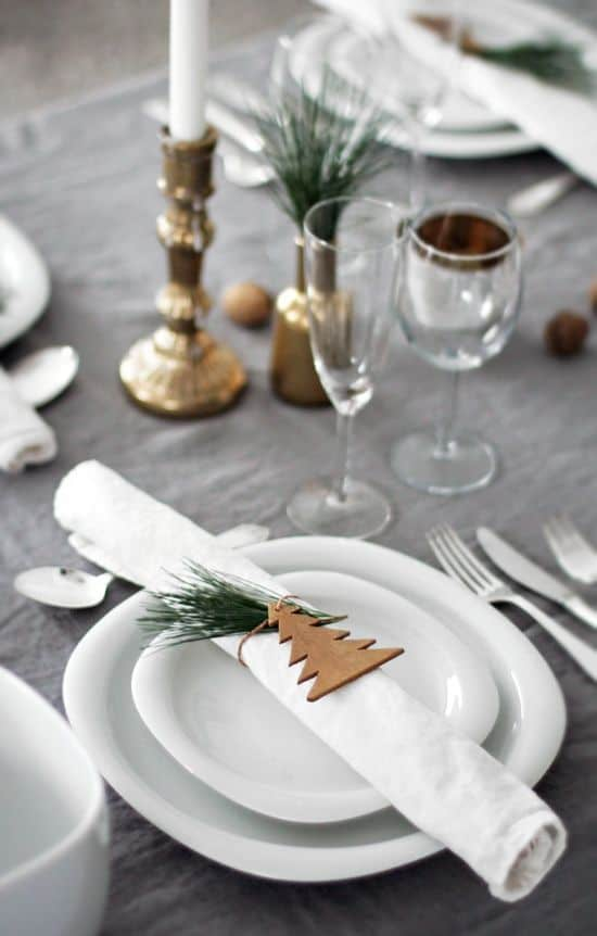 Segnaposto natalizi, idee fai da te per la tavola di Natale