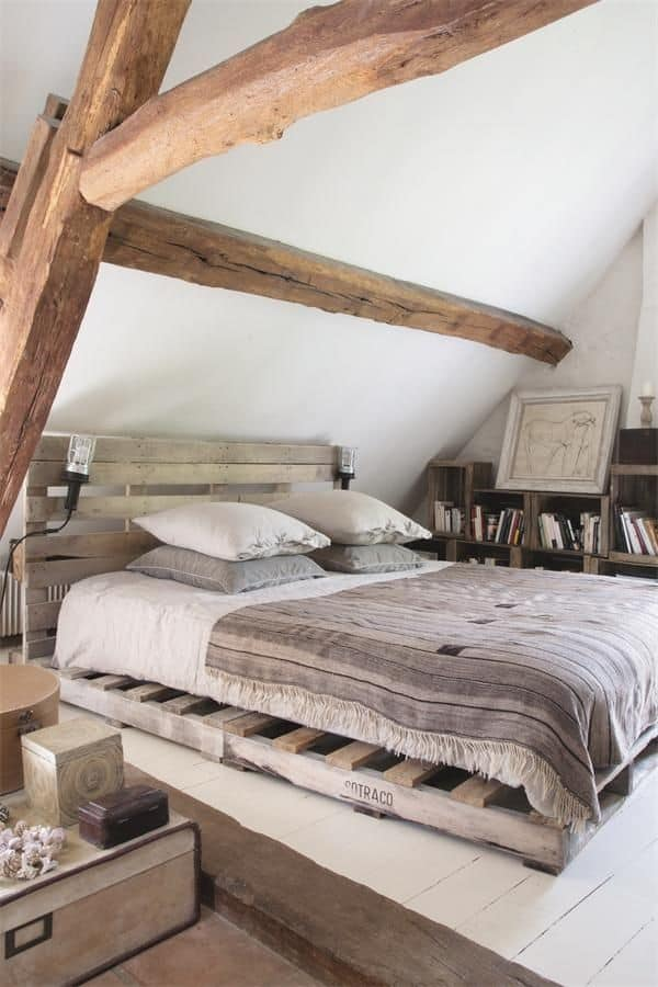 Pallet mania: il letto fai da te di bancali - Tuttoferramenta Blog