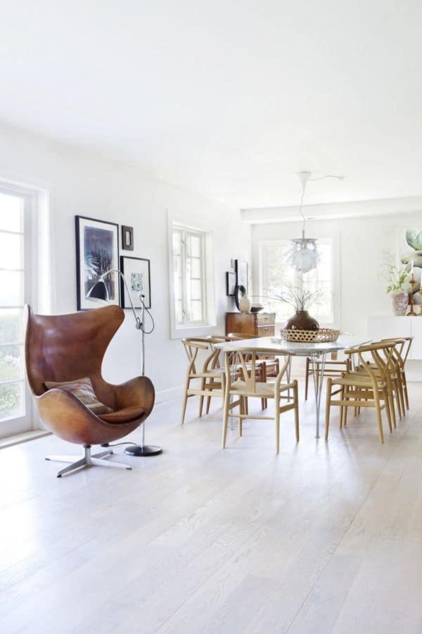 Sedie in Pelle - Egg Chair di Arne Jacobsen
