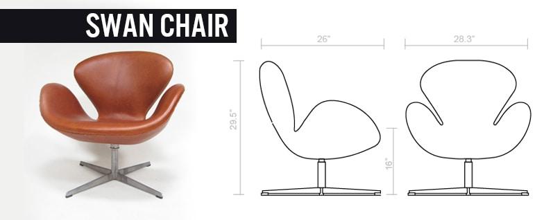 Swan Chair - Sedie di design
