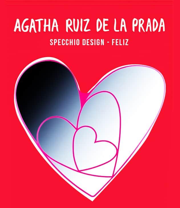 AGATHA RUIZ DELA PRADA - SPECCHIO CUORE