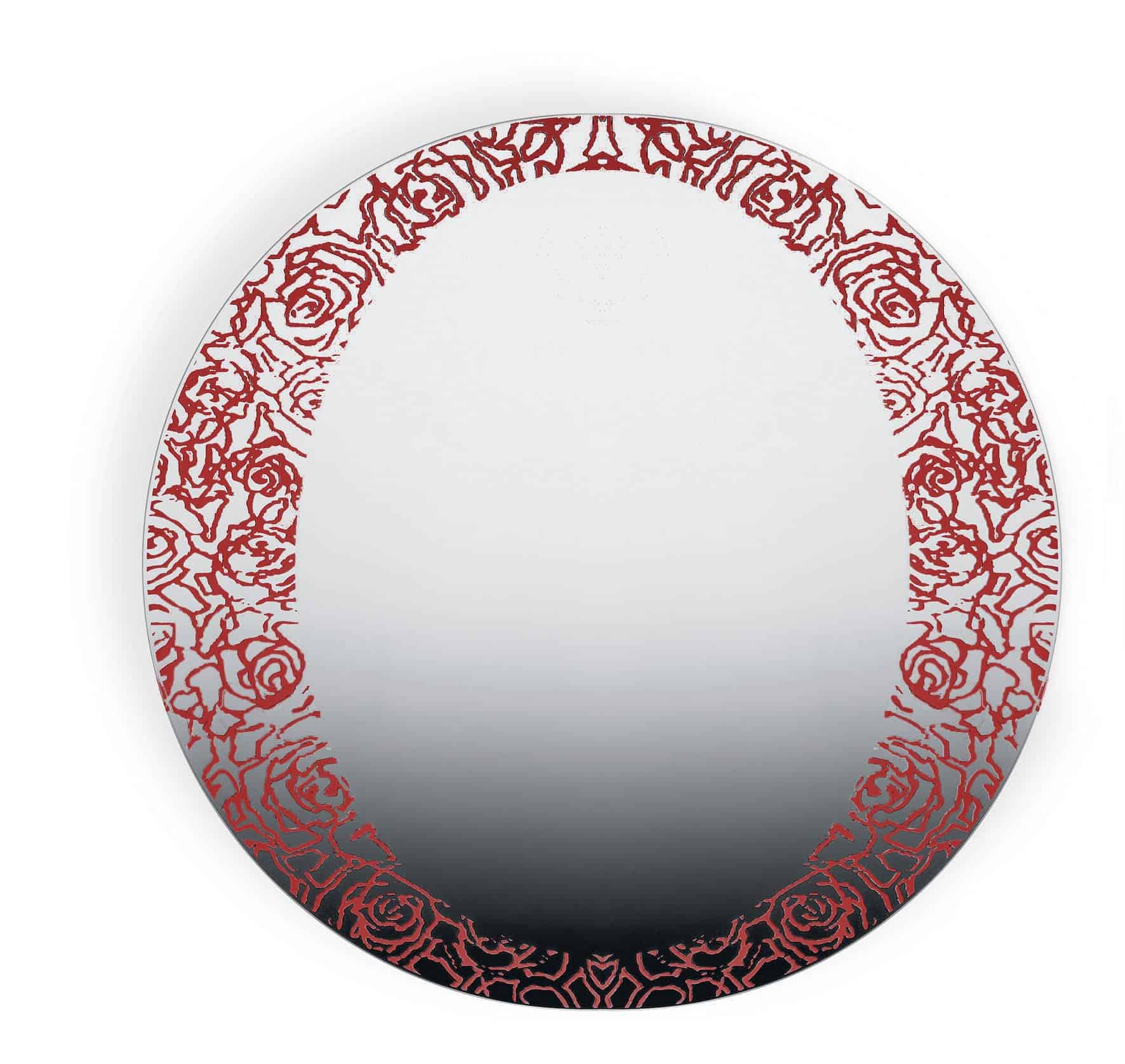 Specchio Rose Rosse