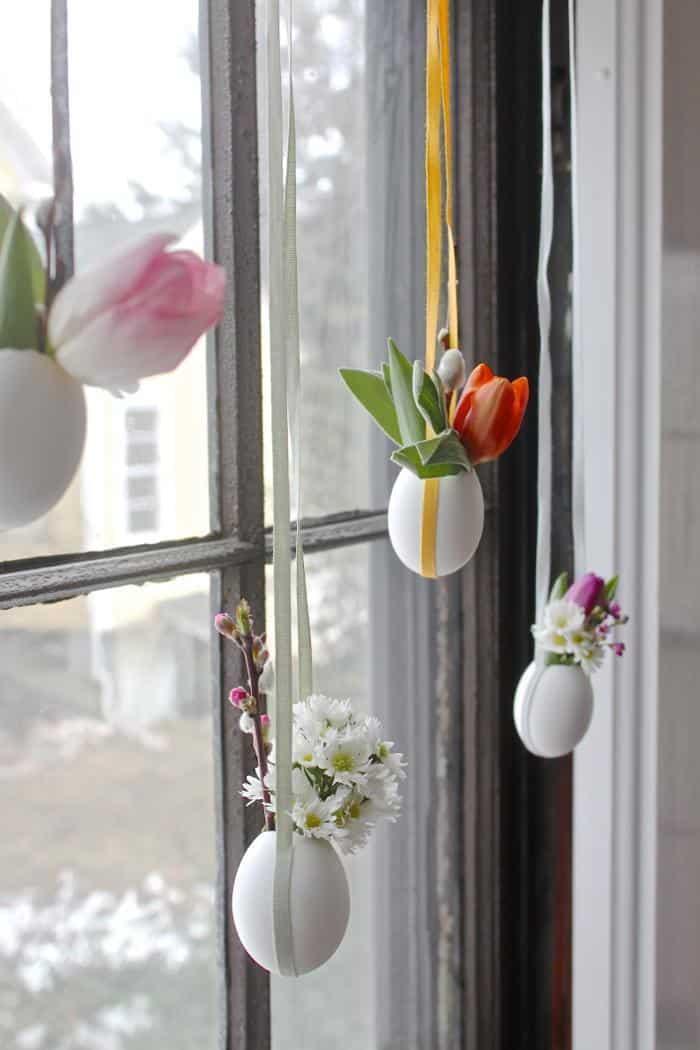 DIY di Pasqua: decorazioni floreali di Primavera