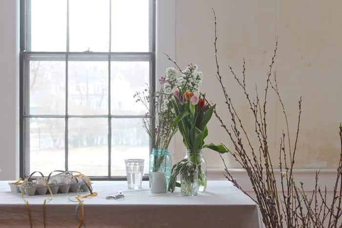Diy di pasqua decorazioni floreali di primavera for Fai da te decorazioni casa