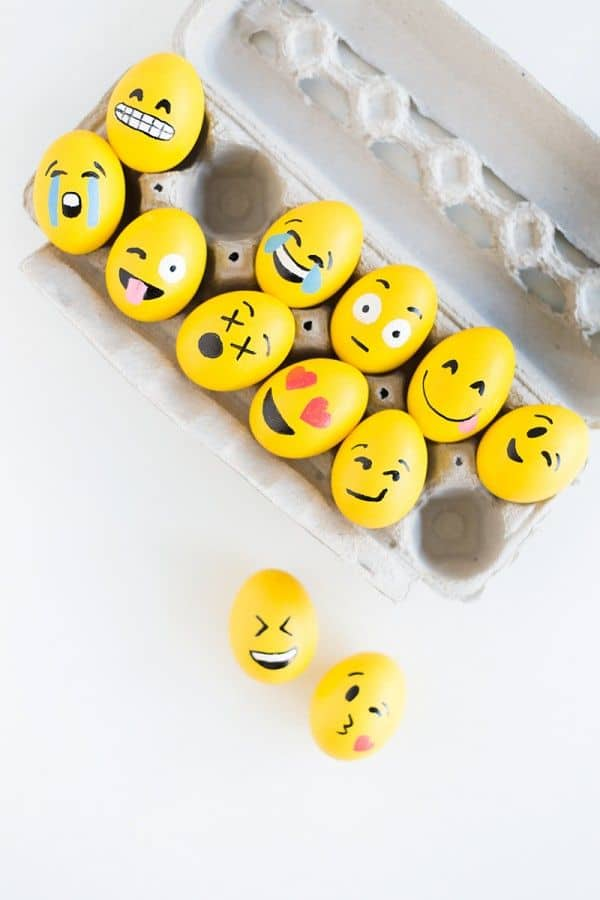 Emoticons Eggs - Uova di Pasqua 2