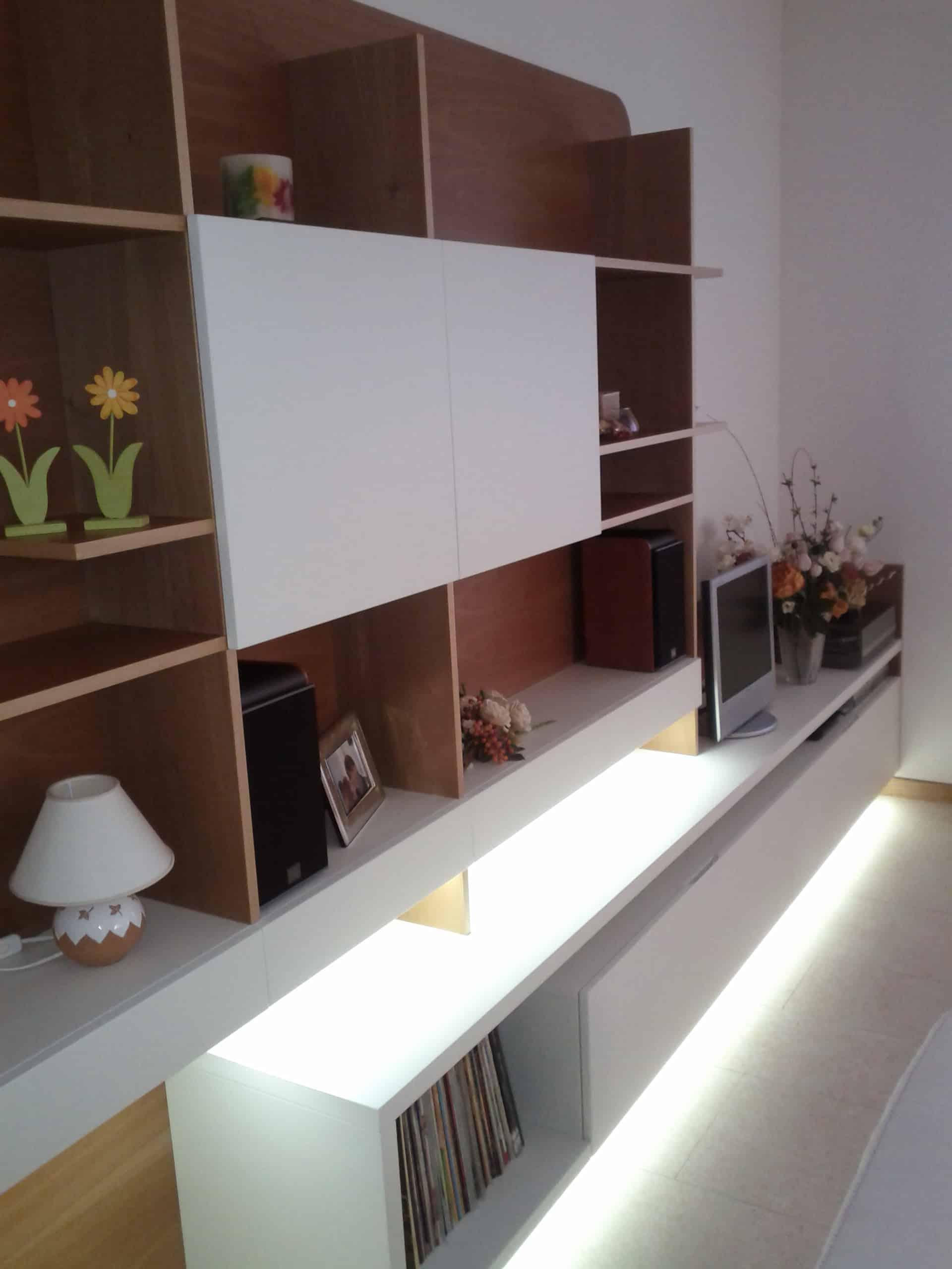 Rupiani Arredi – Giochi di luce in soggiorno con l\'illuminazione ...