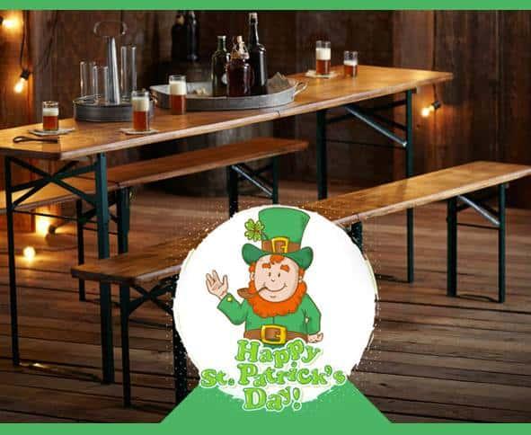 panche da birreria set gambe e tavolo pieghevole tuttoferramenta