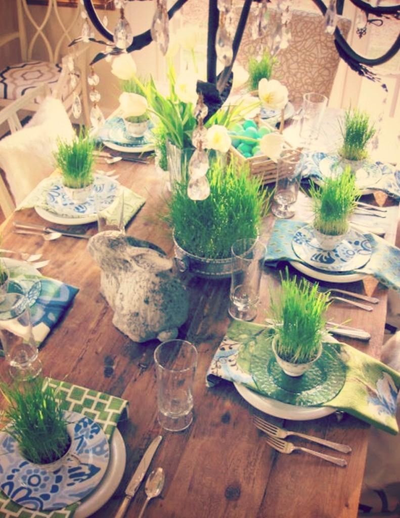 Come decorare tavola di pasqua le idee pi originali per - La tavola di melusinda ...
