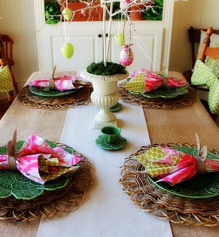 TAVOLA PASQUA  idee diy idee decorazioni tavola tuttoferramenta