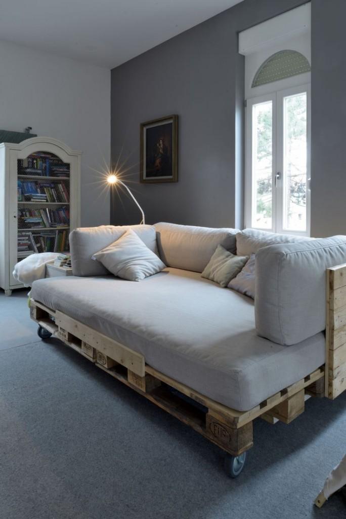 Famoso Pallet mania: il letto fai da te di bancali che ti farà sognare  OB54