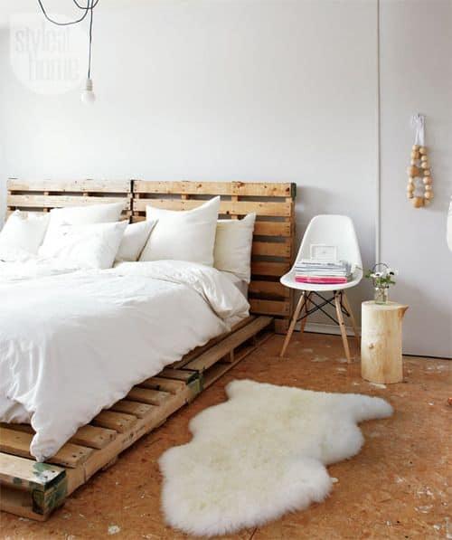 Molto Pallet mania: il letto fai da te di bancali che ti farà sognare  PX29