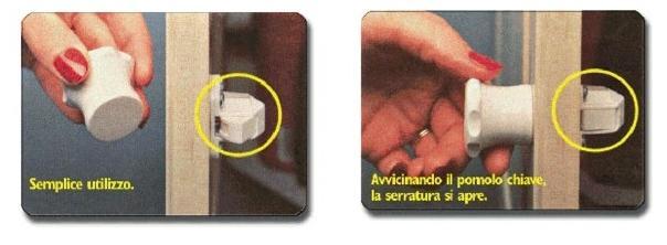 serratura magnetica nvisibile
