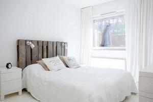 testiera per letto con pallet fai da te idee creative per camera da ...