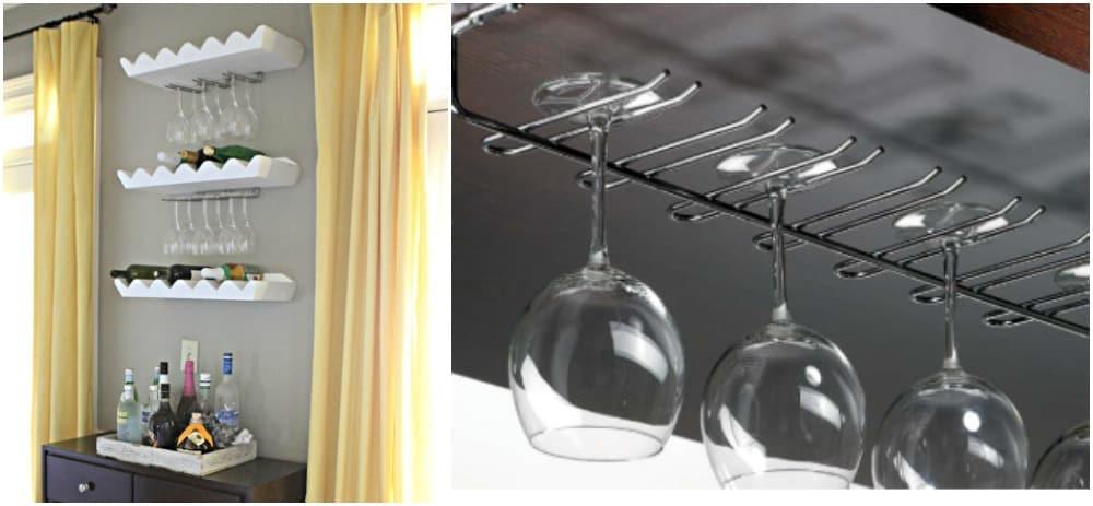 Popolare Mensole Porta Bicchieri KS21 » Regardsdefemmes FF22