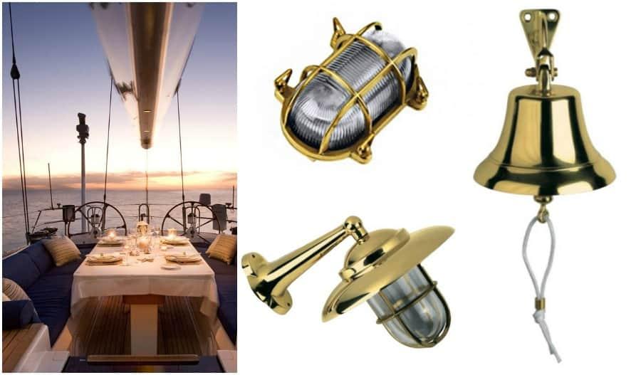 Accessori di arredo per casa al mare in stile nautico for Lampade arredo casa
