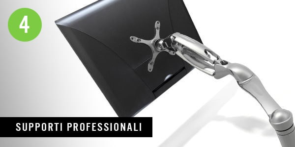 Supporto professionale per monitor