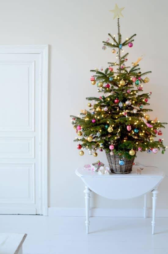 albero di natale colorato idee di arredo natalizio tuttoferramenta