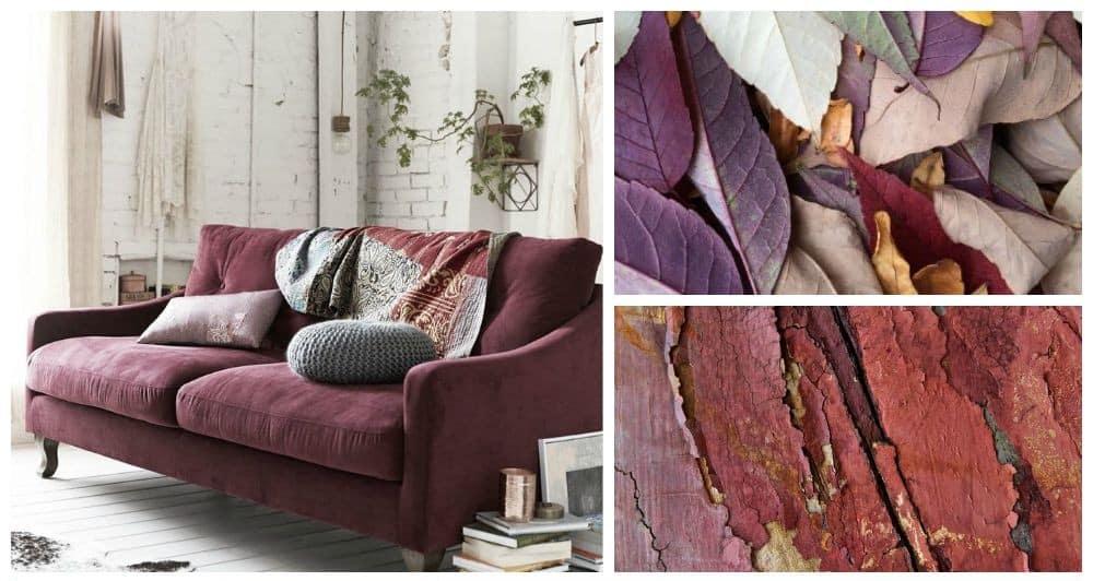 colori arredo per autunno 2015 marsala