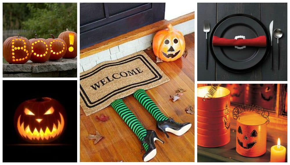 decorazioni halloween night idee arredo zucche lanterne diy fai da te tutorial