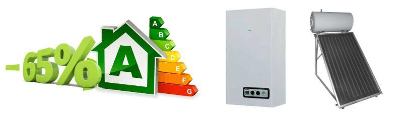detrazioni fiscali acquisto caldaie e pannelli solari per riqualificazioni energetiche