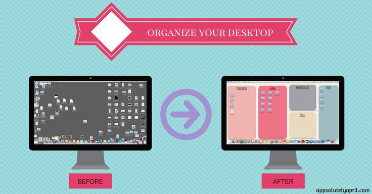 organizza il tuo desktop organized