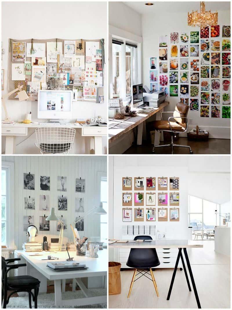 parete decorata ufficio foto e moodboard