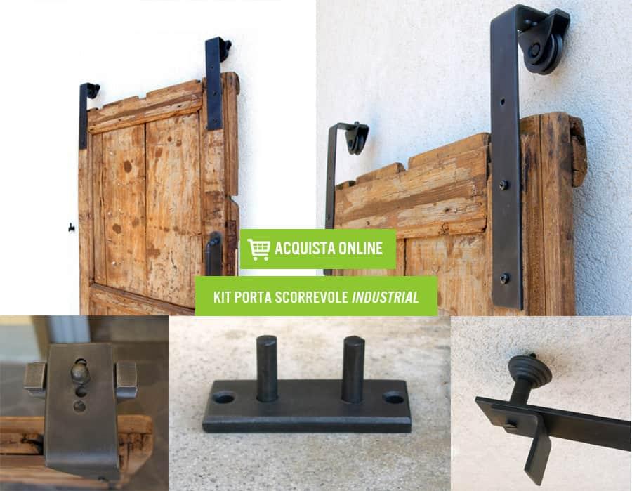 Kit per Porte Scorrevoli Industrial
