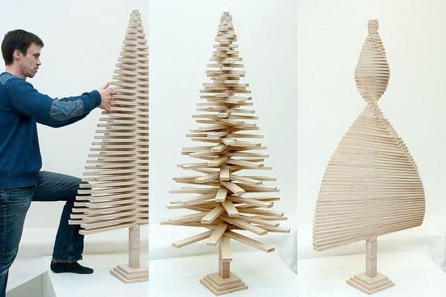 Come fare un Albero di Natale con i Pallet