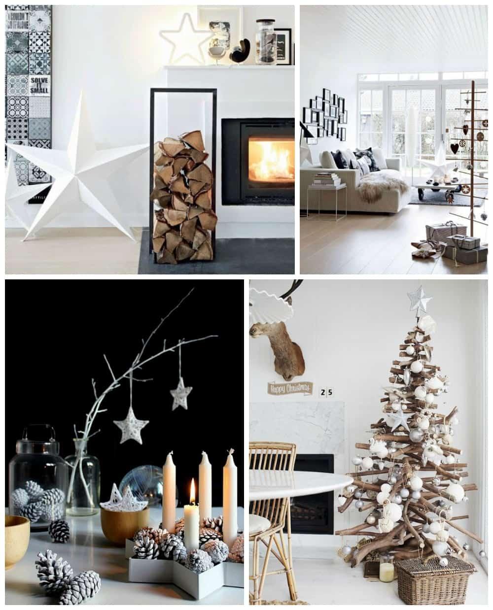 Natale arredo tendenze shabby chic stile scandinavo e for Arredamento natalizio casa