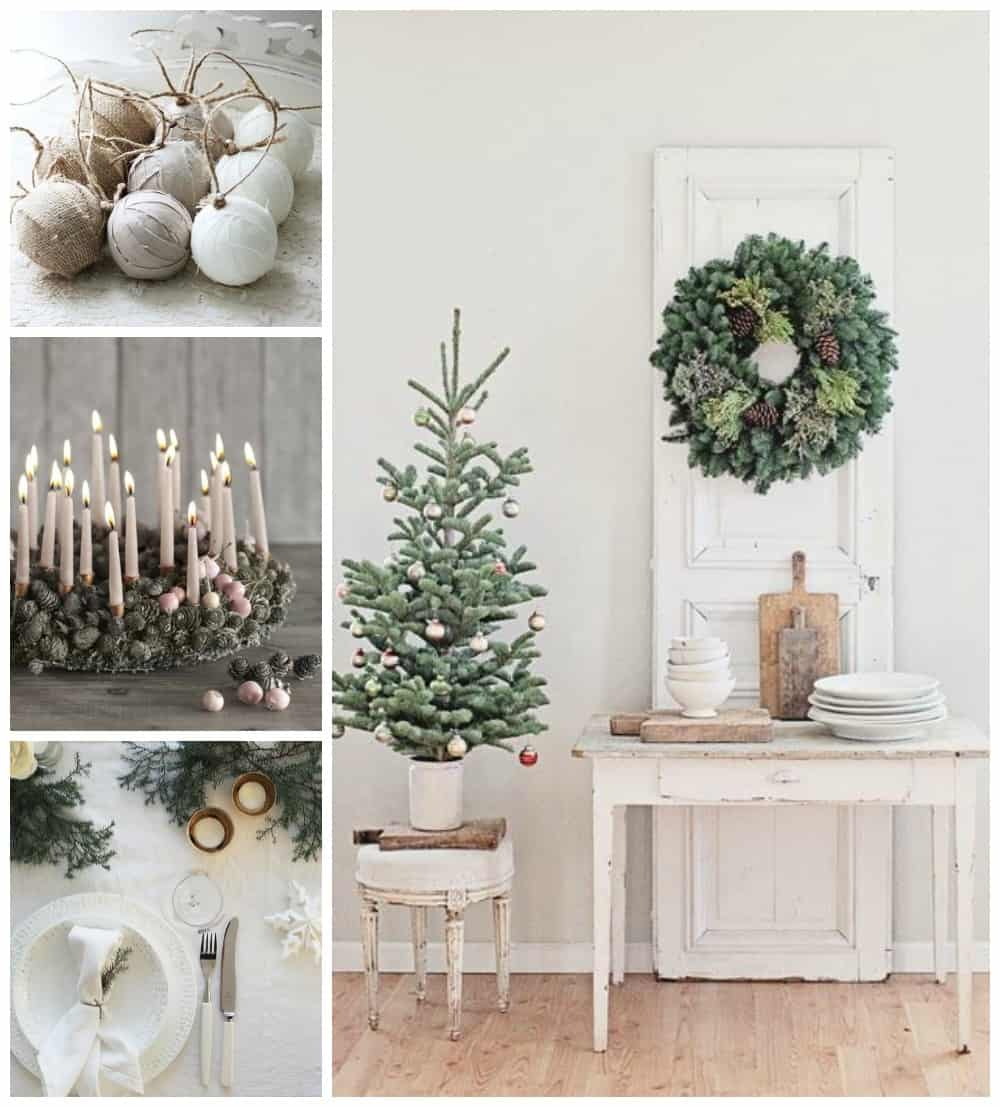Natale arredo tendenze shabby chic stile scandinavo e for Art e decoration rivista